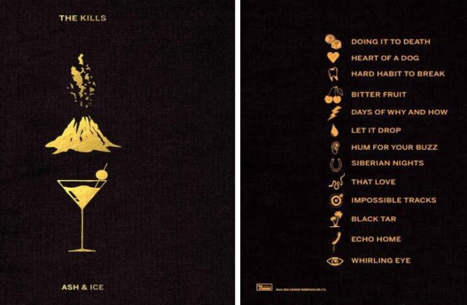 обложка: The Kills - Ash & Ice