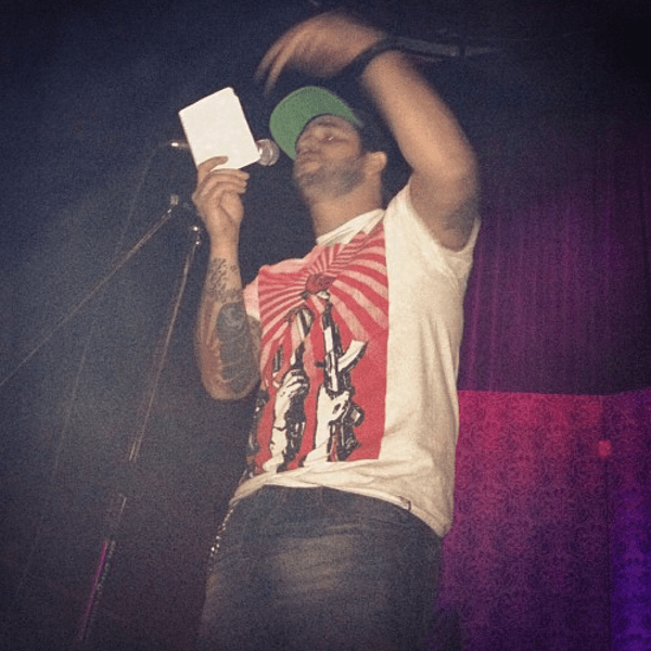 Фаусто Альзати (Fausto Alzati) - поэт и татуировщик