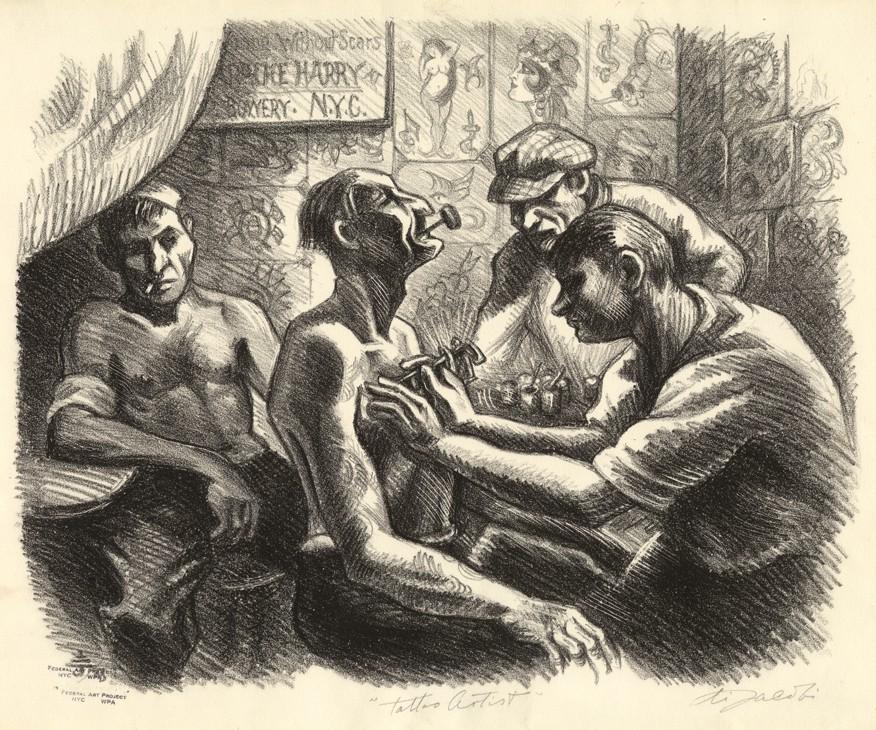 цирковые татуировщики