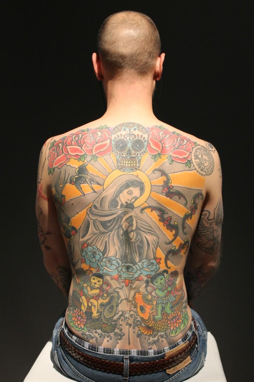 вим дельвуа: татуировка