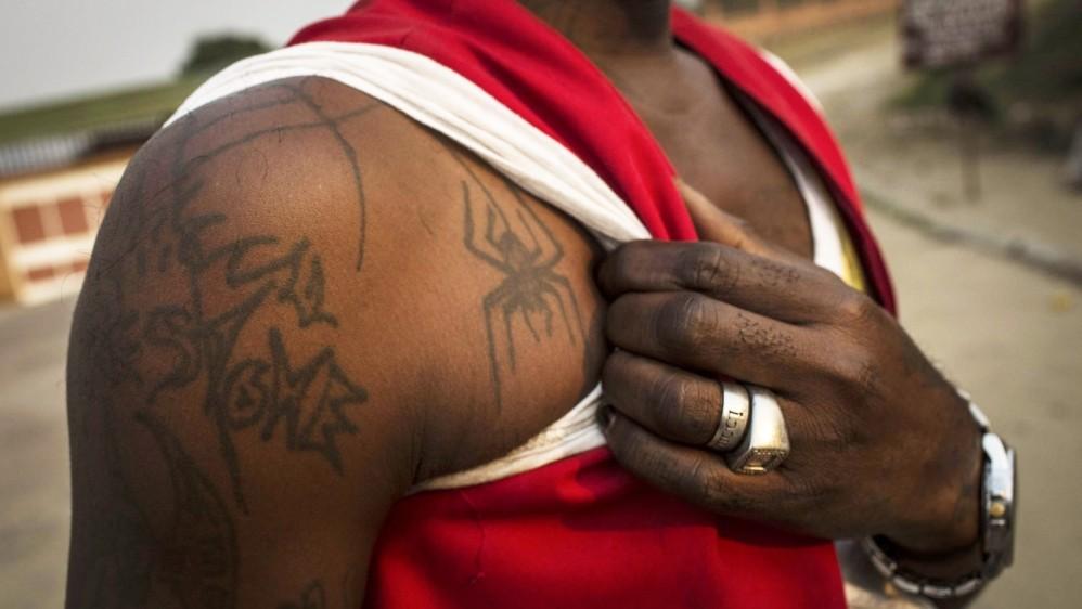 африка, татуировка, конго