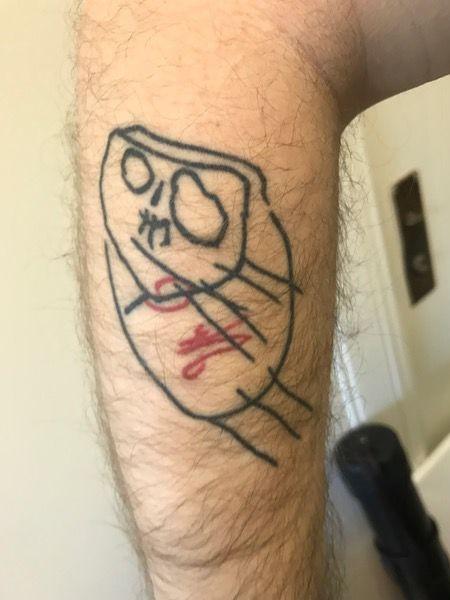 татуировки по детским рисункам