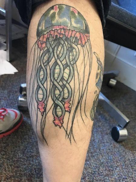 медуза, татуировка