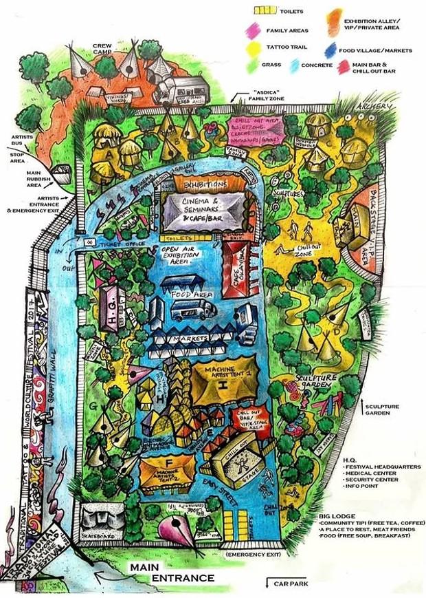 карта: Traditional Tattoo & World Culture Festival 2017