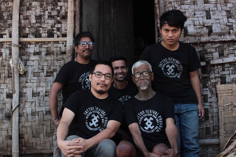 индия, мьянма, охотники за головами, татуировка