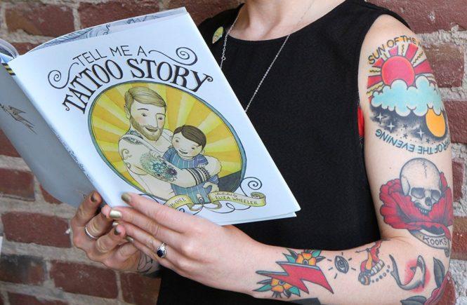 детская книжка, Расскажи мне о своих татуировках, Tell me a tattoo story