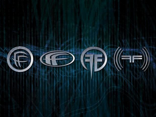 fear factory, логотип