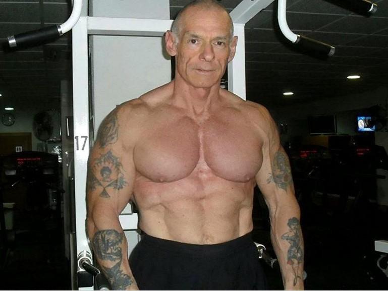 рэй хоутон, татуировки в старости, бодибилдер, портакирэй хоутон, татуировки в старости, бодибилдер, портаки