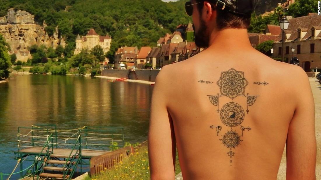татуировки Рон Сугано