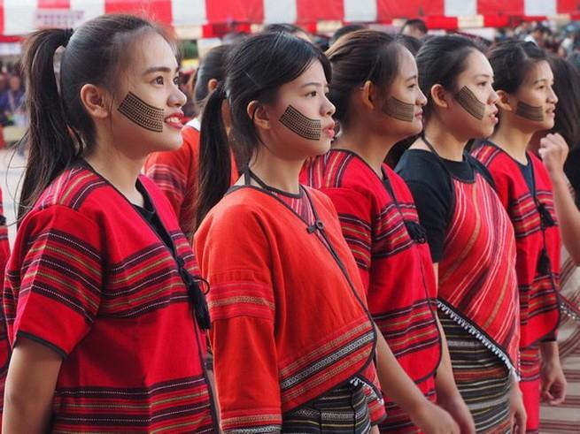 атаял, тайвань, традиционная татуировка, национальное достояние