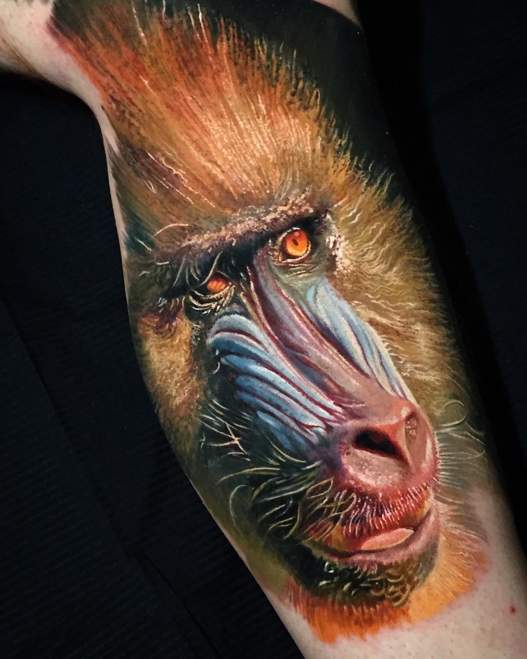 Борис, Boris Tattoo, Марио Барт, Intenze Tattoo Ink, фэнтези в реализме