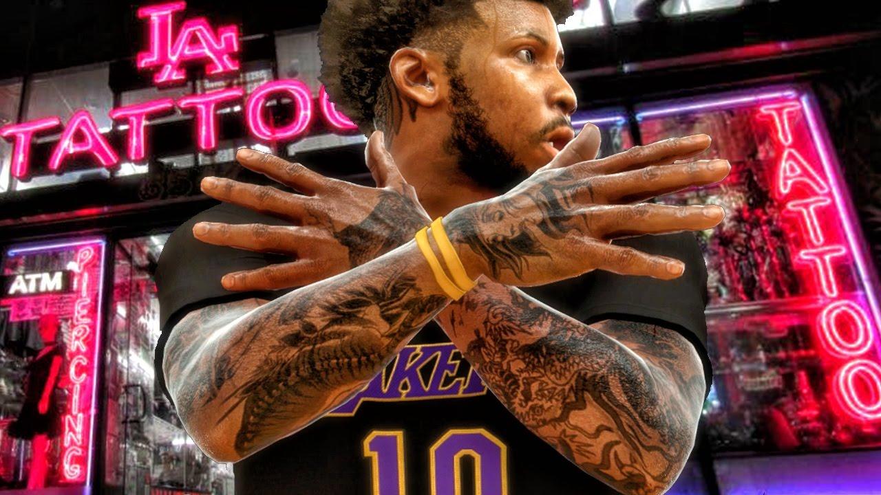 NBA 2K, Neighborhoods, Take-Two Interactive, татуировки баскетболистов