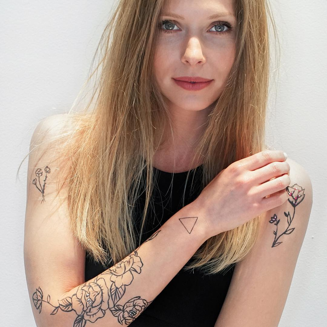 amkiri, визуальный аромат, израиль, временные татуировки, духи, бодиарт