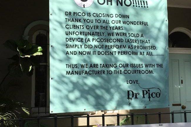 Dr Pico, Cynosure, Dr Kolodzej, Mr Cronje, Сидней, Австралия, алкоголь, наркотики, сведение татуировок