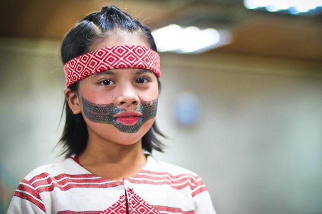 традиционные татуировки на лице, Тайвань, национальное достояние, детские татуировки