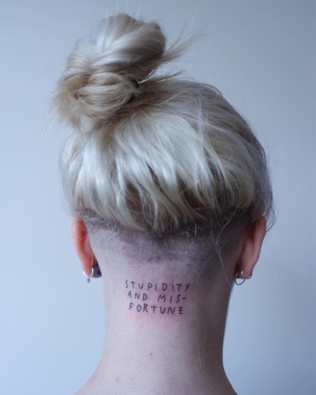 татуировки-надписи, Мэйсон Хефнер, Maison Hefner, германия, мюнхен, интервью, татуировки со смыслом, психология