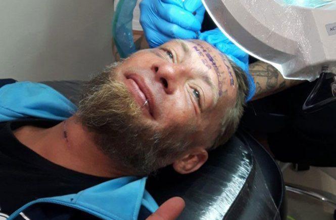 Джейми Блэйк, Jamie Blake, Томек, Бенидорм, Испания, Польша, татуировка на лице