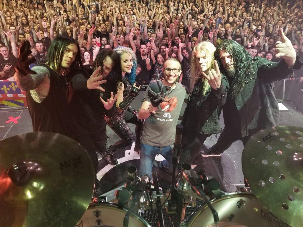 Arch Enemy, Melusinaster Arcusinimus, концерт, Бен Туи, подарок группе, дань уважения