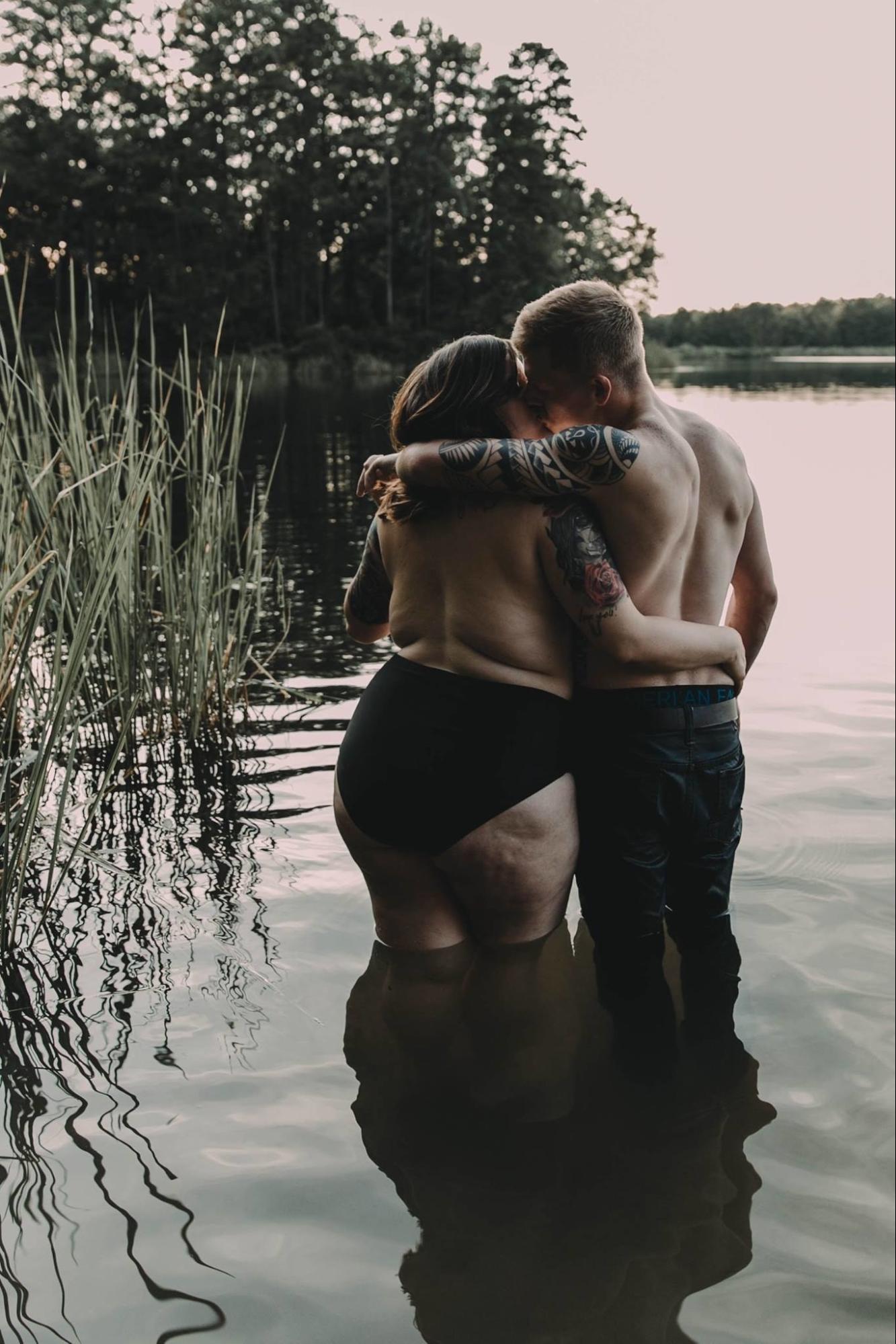 фотографии влюбленной пары, Wolf & Rose, Стефани и Аррин