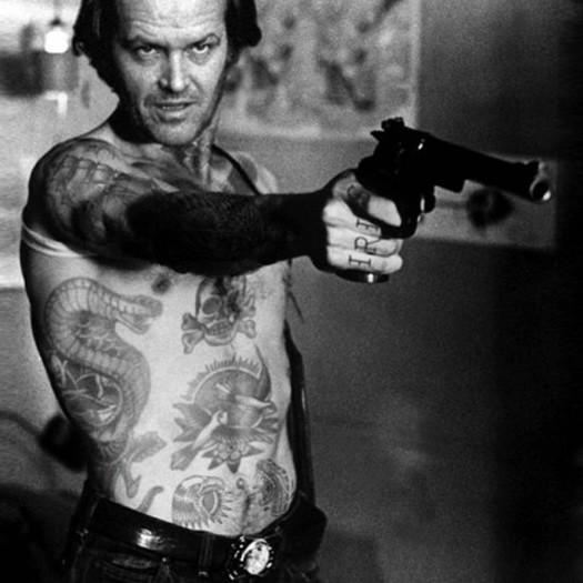 Джек Николсон, Jack Nicholson, шайенн рэндалл, татуированные знаменитости, фотошоп, cheyenne randall, сиэтл