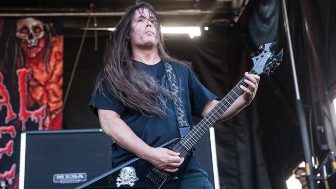 гитарист cannibal corpse, пэт о'брайэн, pat o'brien