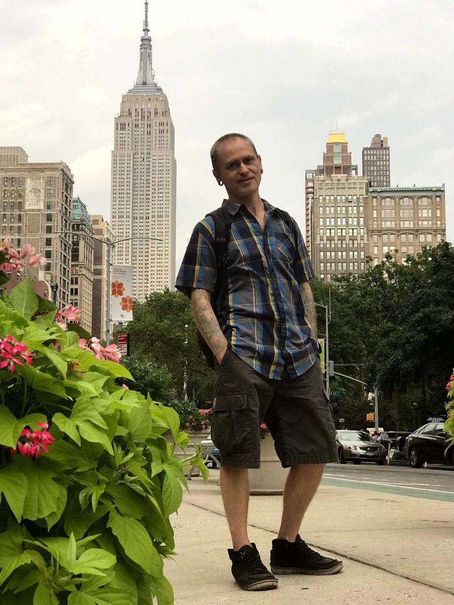 Джордж Бардадим, George Bardadim, США, USA, Нью-Йорк, New York, Эмпайр-Стейт-Билдинг, Empire State Building