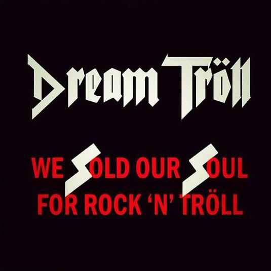 Black Sabbath, Dream Troll, 1975, обложка, винил, ss, нацистская символика, руна зиг