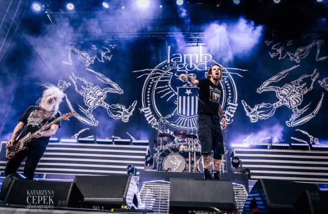 lamb of god, рок-концерт, фестиваль, метал, pure american metal, металлисты, сцена, сша