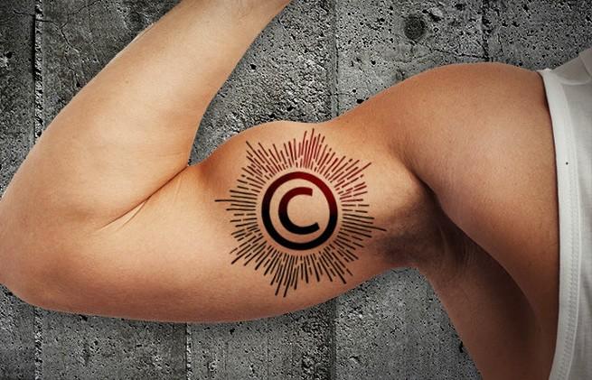 авторское право, закон об авторском праве, татуировка