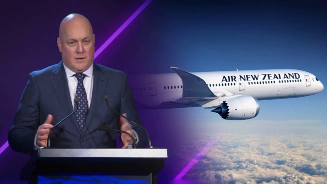 Air New Zealand, Christopher Luxon, авиакомпания, генеральный директор, руководитель, официальное заявление
