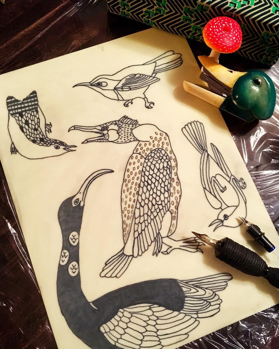 noko, gakkin, ноко, гаккин, японская татуировка, ребенок татуировщик, амстердам, нидерланды