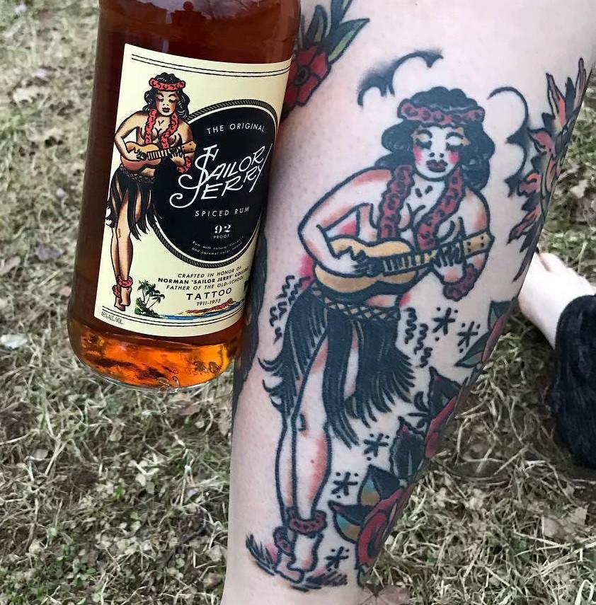 William Grant & Sons, Sailor Jerry Spiced Rum, Сейлор Джерри, Луиза Коллинз, Норман Кеит Коллинз, олдскул, ром, алкогольный напиток