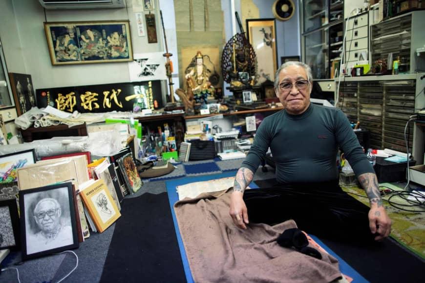 хориоши третий, якудза, япония, японская татуировка, ирезуми, японское искусство, традиционная татуировка, бандитские татуировки