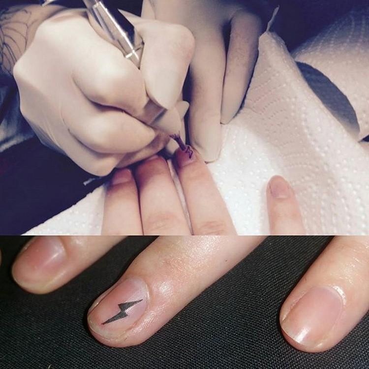 татуировки на ногтях, лал харди, легенда intenze, временные татуировки, lal hardy
