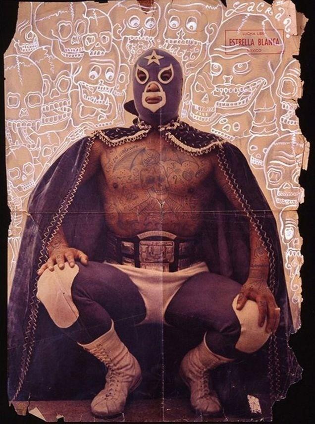 доктор лакра, delinquent, мексика, разрисованные афиши,блошиный рынок, старая полиграфия