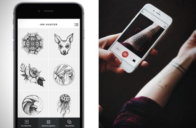 inkHunter, лучшие мобильные приложения Apple, Think before you ink, мобильное приложение для татуировок, мобильное приложение для татуировок на Android, мобильное приложение для татуировок на Apple, примерить татуировку, разместить татуировку