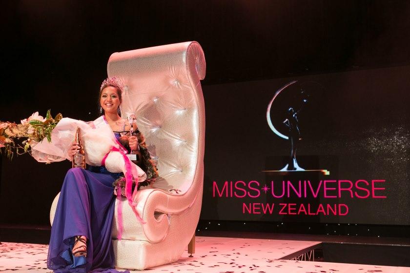 Та-моко, Харлем-Круз Атаранги Ихайа, Мисс Вселенная Новая Зеландия, конкурс красоты