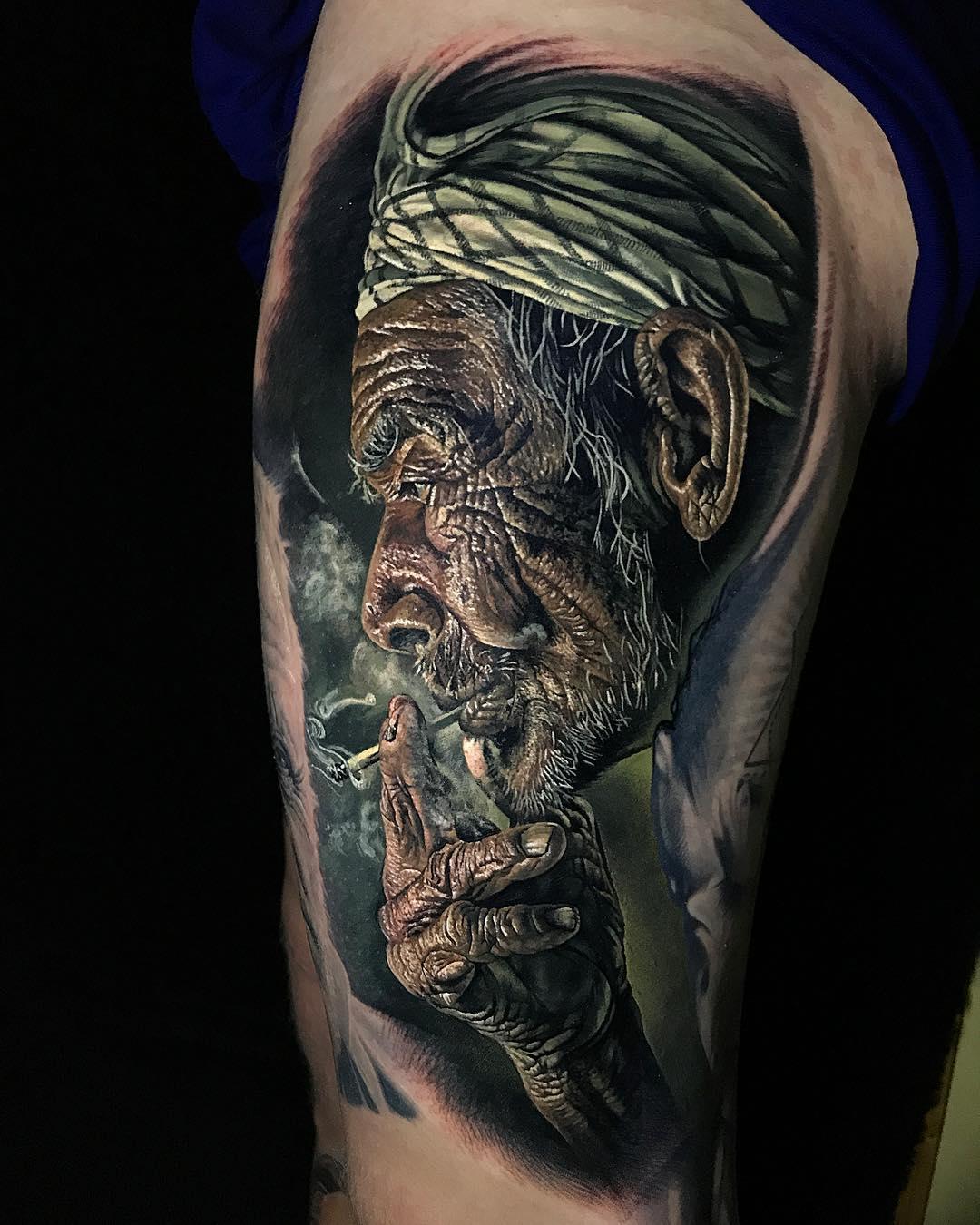 Steve Butcher, Intenze, реализм, портретная татуировка, лучший татуировщик, авторский набор, тату-краска, красящий пигмент
