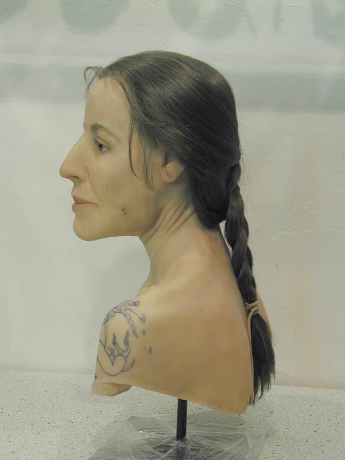 принцесса укока, алтай, мумия с татуировками, история, археология, швейцария, воссоздание внешности, древние татуировки