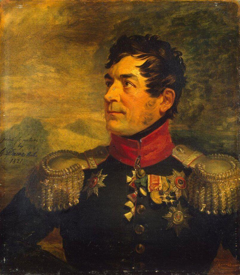 георгий эммануэль, герой войны, эрмитаж, отечественная война, война с наполеоном, бородино, вршац, сербия