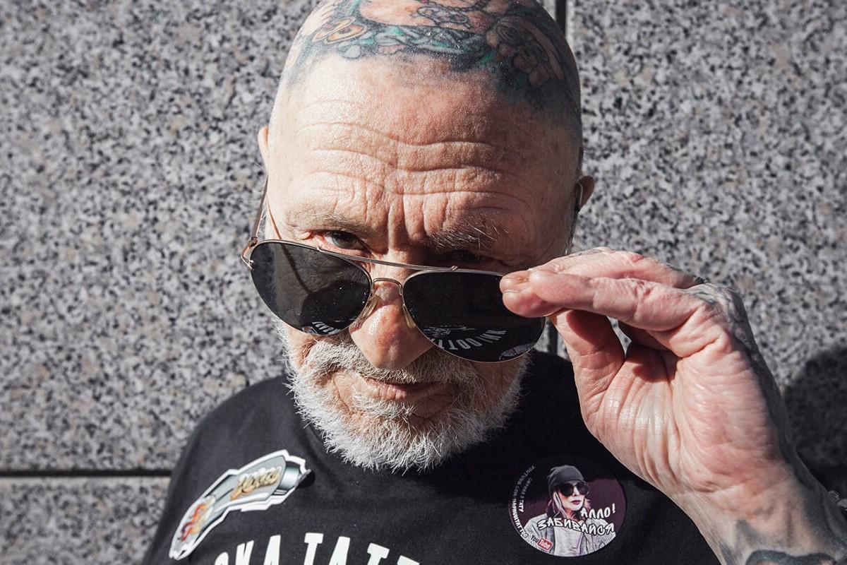 генрих эммануэль, тату-дедушка, татуировки в старости, лучшие татуировки