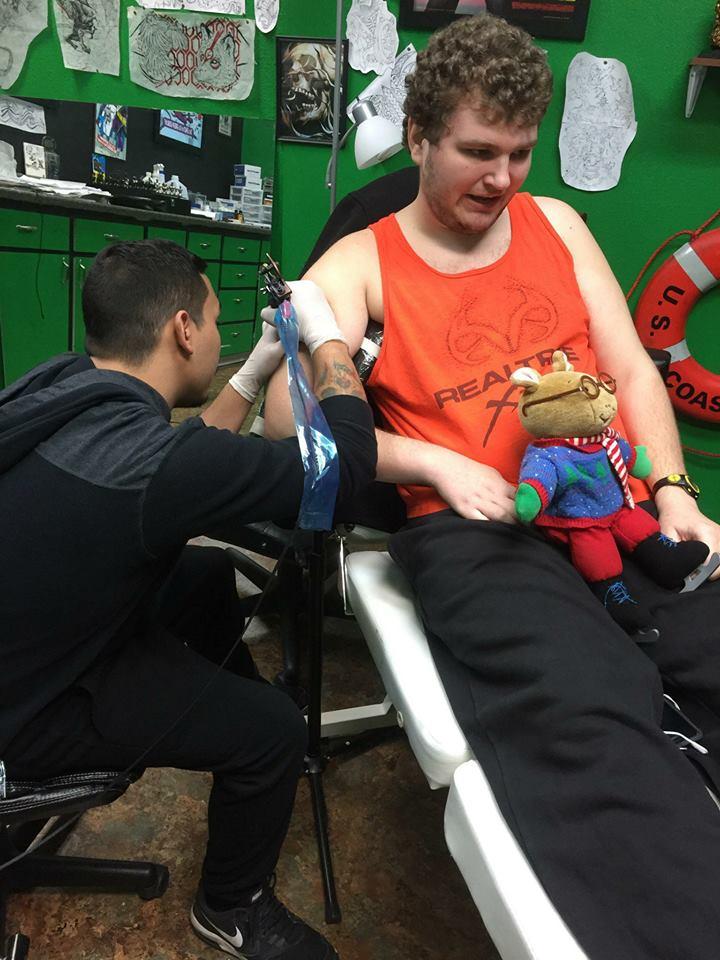 Ох уж эти детки, аутизм, татуировка, отказ в татуировке, Northwest Inkorporated