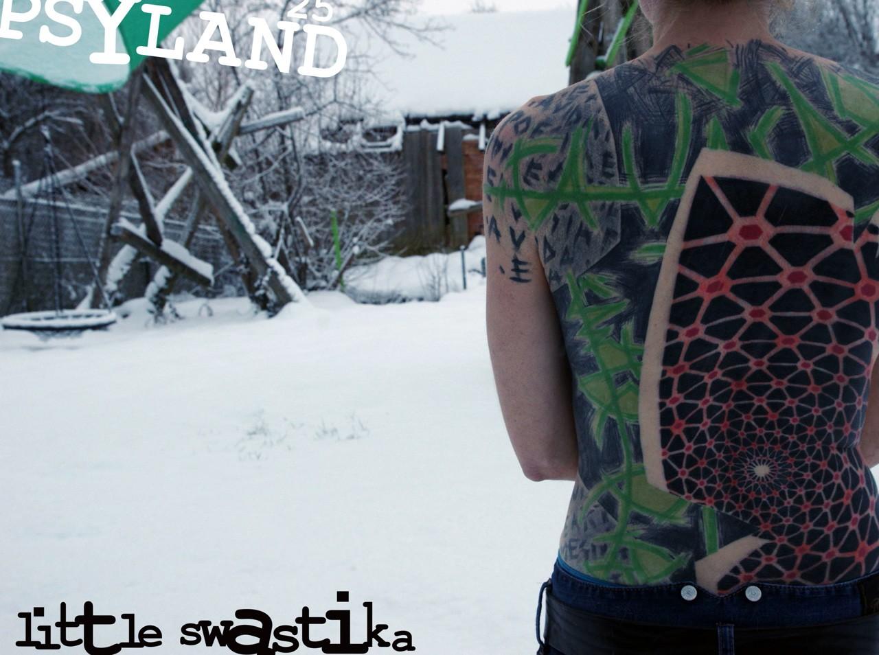 Little Swastika, Lily Lu, масштабные татуировки, большие татуировки, концептуальная татуировка
