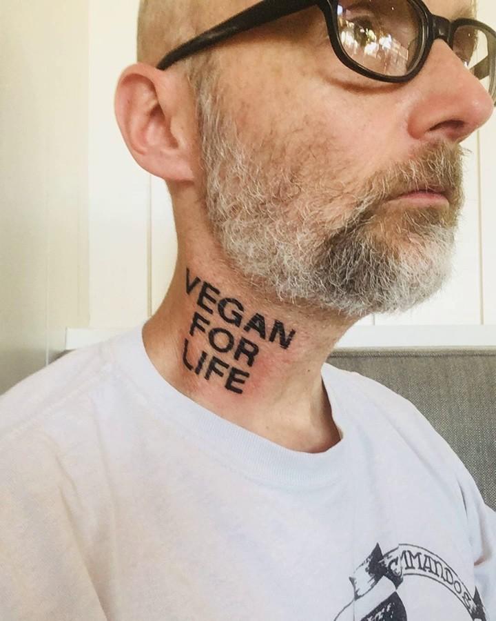 Моби, Moby, Vegan for Life, вегетарианство, права животных, веганские татуировки, веган, Земляне