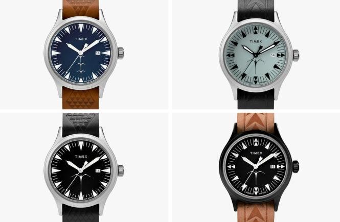 timex, field watch, наручные часы, полинезийский дизайн, полинезийская татуировка, краснохвостый фаэтон, часы в тату стиле, дизайнерские часы