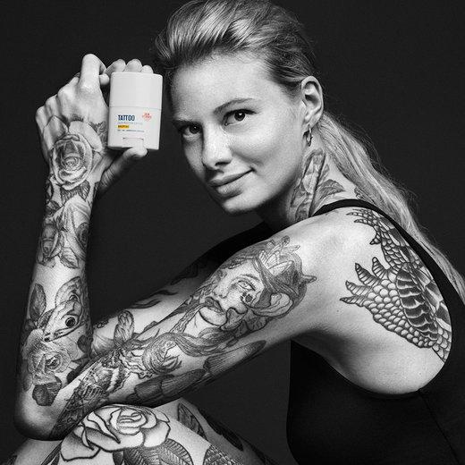 Skin Stories, Beiersdorf, Nivea, средства ухода за татуировкой, новая косметика, косметика из германии, Color Protection Sun Stick