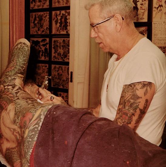 Мастер японской татуировки - Сейлор Джерри (ХориСмоку)