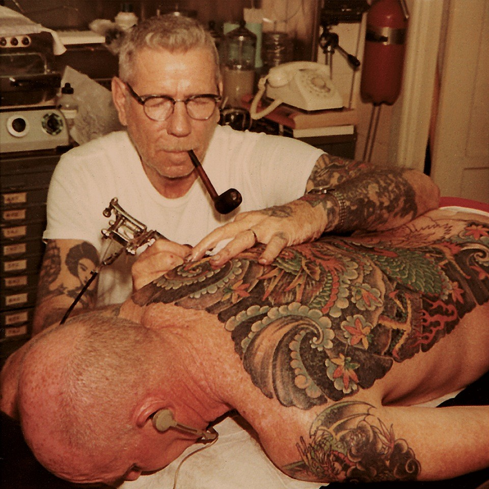 Мастер японской татуировки - Сейлор Джерри