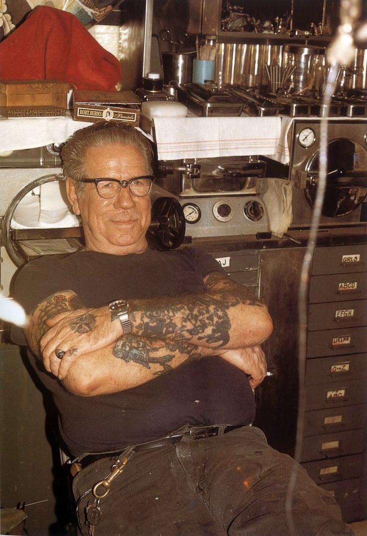 Сейлор Джерри - лучший татуировщик в мире