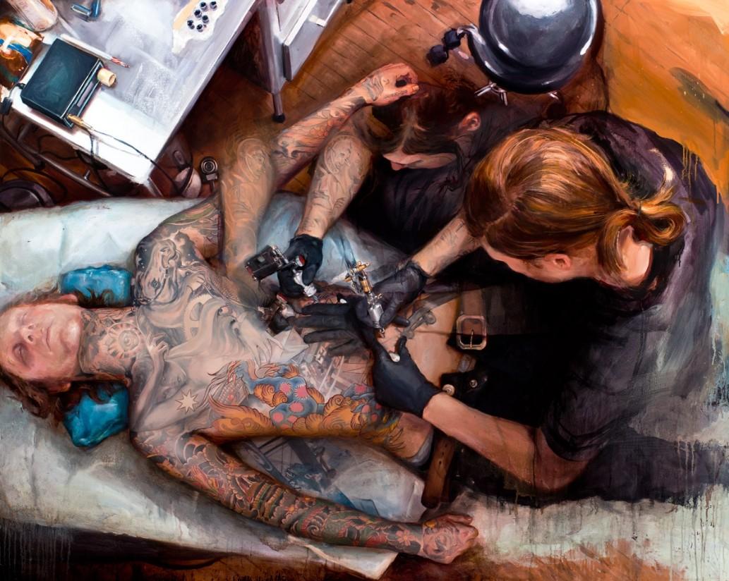 Шон Барбер (Shawn Barber) и его живопись